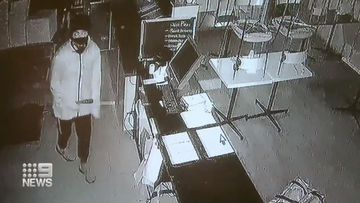 St Albans pizza shop robbery caught on CCTV