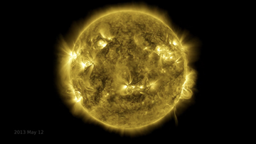 NASA's Solar Dynamics Observatory – SDO – has been hard at work over the last 10-years capturing an image of the Sun every 0.75 seconds.