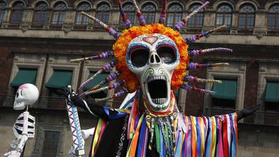 Día de los Muertos, or Day of the Dead, is a celebration of life and death