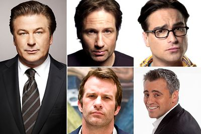 Alec Baldwin &mdash; <i>30 Rock</i><br/>David Duchovny &mdash; <i>Californication</i><br/>Johnny Galecki &mdash; <i>The Big Bang Theory</i> <br/>Thomas Jane &mdash; <i>Hung</i><br/>Matt LeBlanc &mdash; <i>Episodes</i>