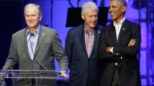 Former Presidents George W. Bush, Bill Clinton and Barack Obama wouldn't have politicised the crisis like Donald Trump, according to Dr David Smith.