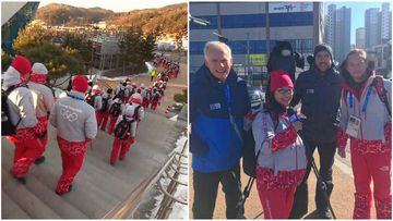 The Aussie volunteers flocking to the Winter Olympics