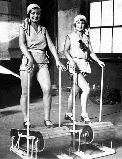 <strong>The wooden treadmill</strong>
