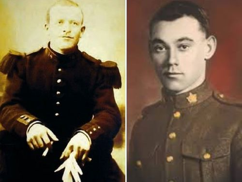 French soldier Augustin Trebuchon, left, and Canadian Private George Price died just minutes from the 1918 Armistice that ended the fighting.