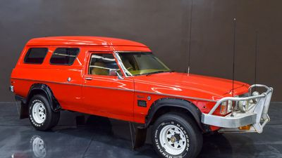 Ultra-rare Holden Kingswood 4WD to head to auction