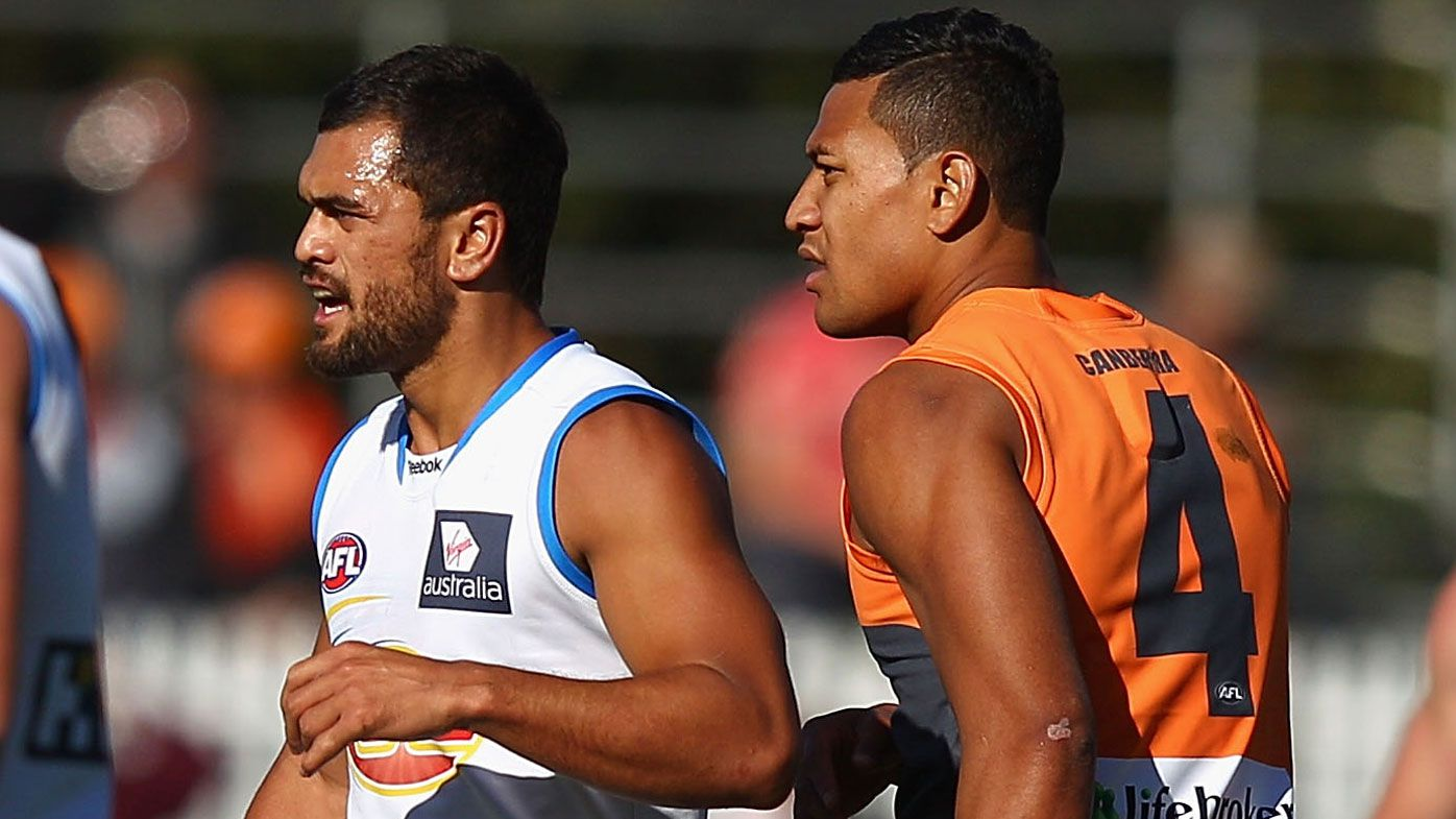 Karmichael Hunt, Israel Folau reveal the heavy toll of AFL code switch