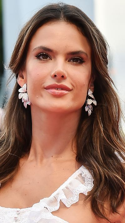 Alessandra Ambrosio at the opening ceremony.