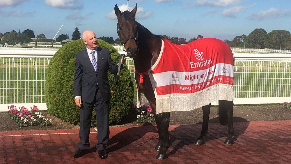 Legendary race caller Greg Miles to call final meeting at Caulfield on Easter Saturday