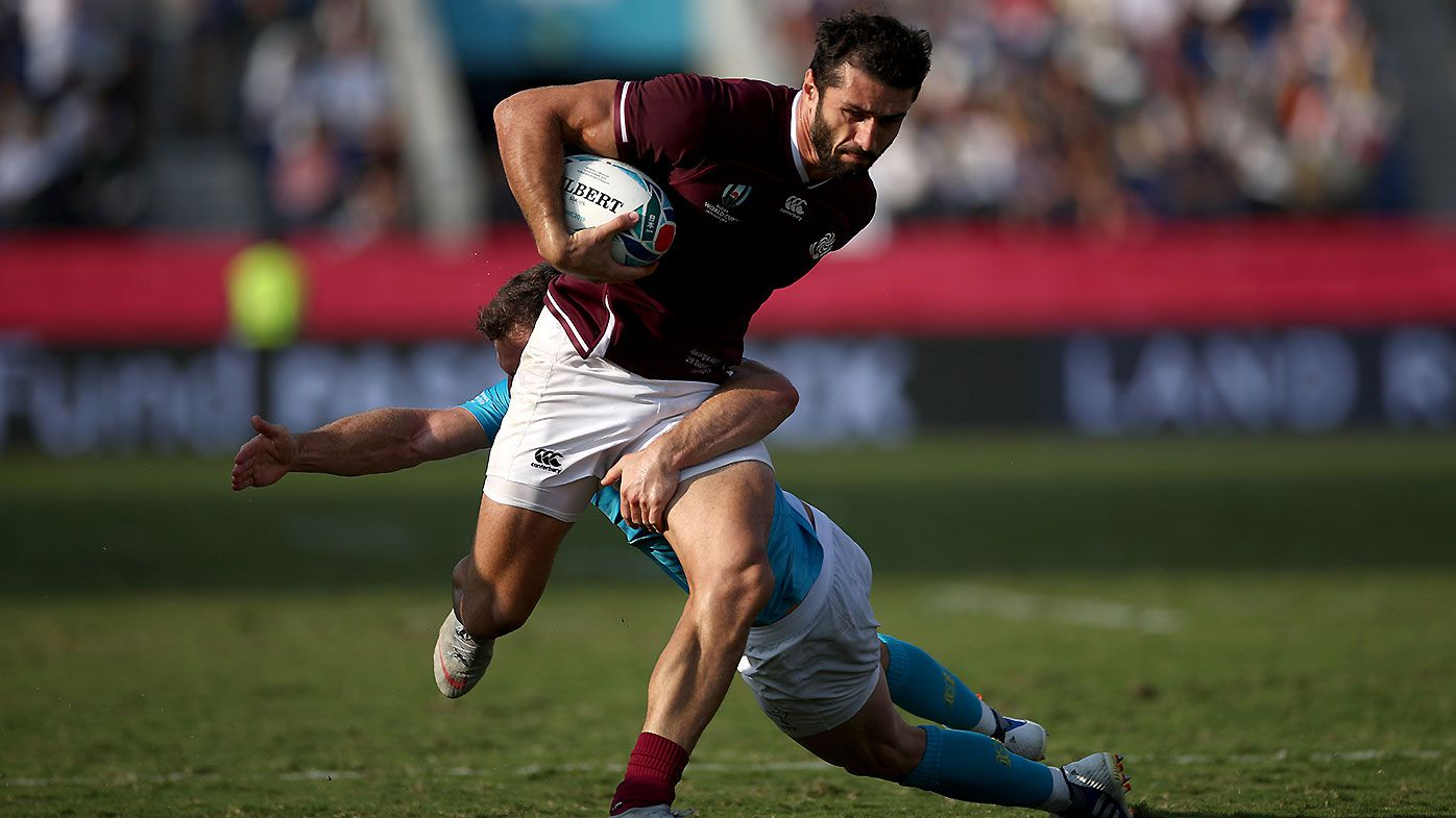 Uruguay humbled by Georgia after fairytale Rugby World Cup opener