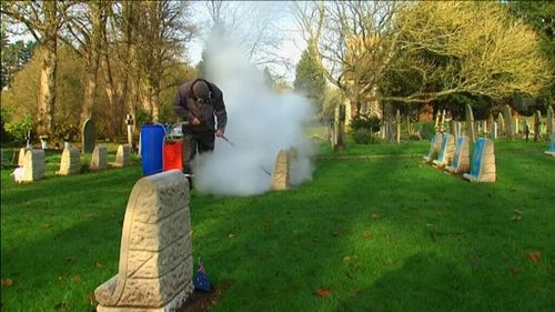 CWGC said headstones would be restored to their original condition. (Supplied)