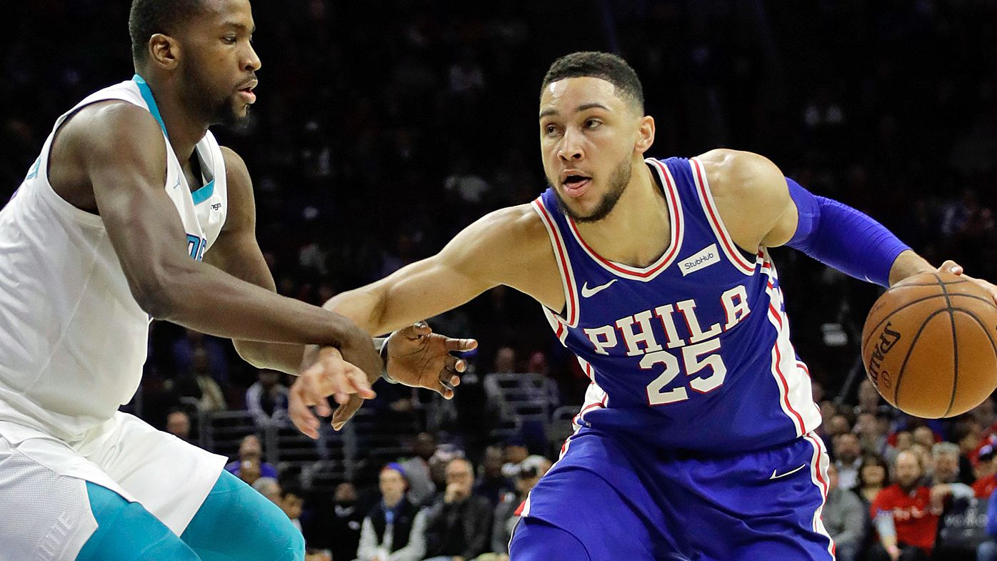 Simmons triple-double, 76ers nine straight