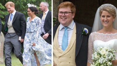 Harry and Meghan steal the show at another wedding