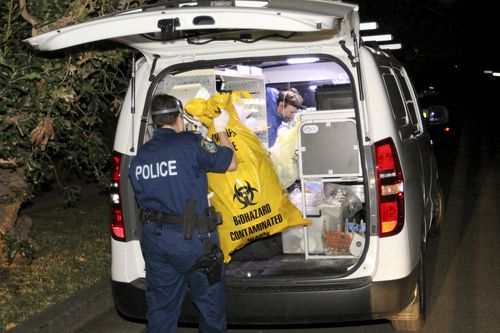 A number of items were removed from the property. Picture: AAP