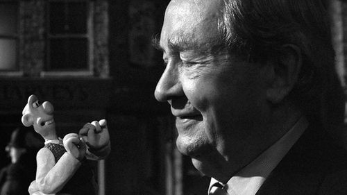 "Peter Sallis said he feels ""lucky to have been involved"" in 'Wallace and Gromit"". (Facebook)"
