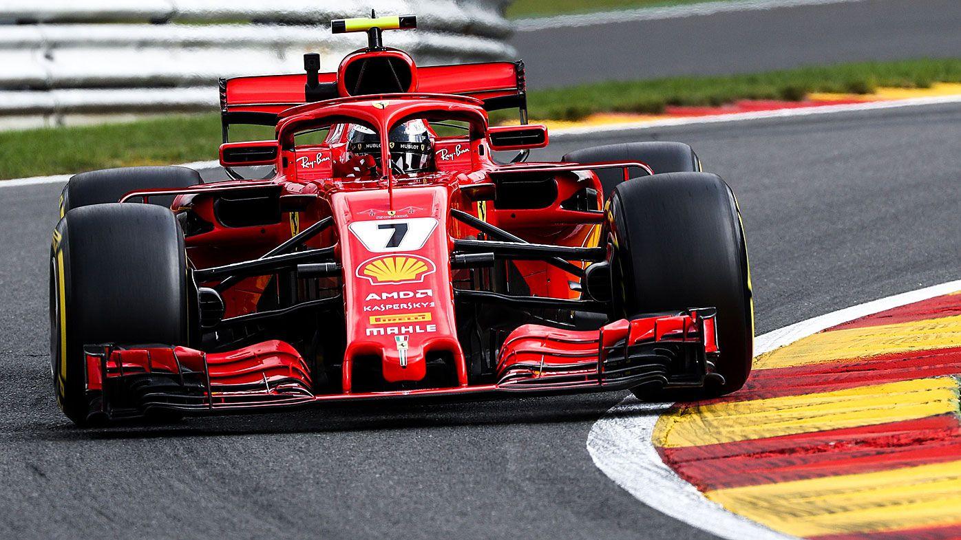 Vettel in Ferrari sweep in F1 practice