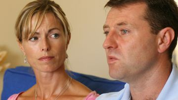 Kate and Gerry McCann, the parents of the missing girl Madeleine McCann.