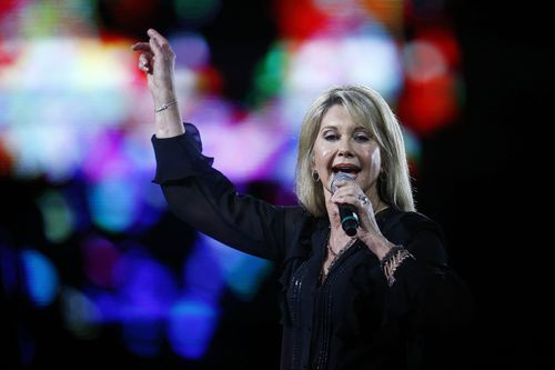 The singer was forced to cancel tour dates after her latest cancer diagnosis. (AAP)