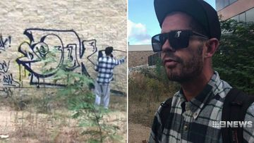 'It's a little bit of eye candy': Graffiti vandal charged