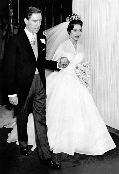 Princess Margaret marries Antony Armstrong-Jones, May, 1960.