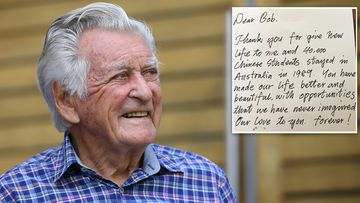 190517 Bob Hawke death Chinese students letter tribute politics news Australia