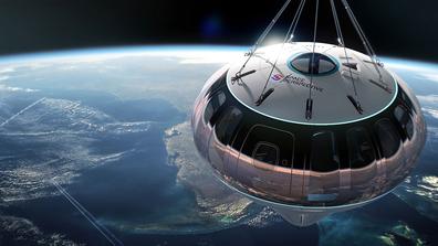 Spaceship Neptune balloon design for space tourism