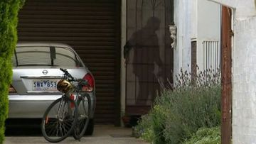 A Melbourne resident has described feeling in a dream-like state when he confronted an intruder in his home last night.
