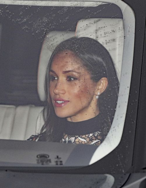 Meghan Markle is the first royal financee to be invited to Sandringham for Christmas. (Philip Toscano/PA via AP)