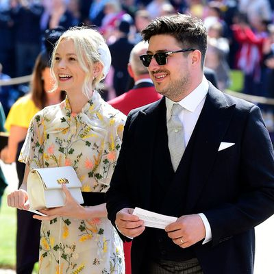 Carey Mulligan and Marcus Mumford