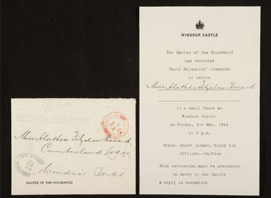 Correspondence from Windsor Castle to Alathea Fitzalan Howard
