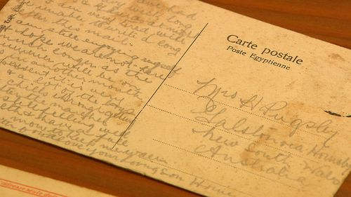 Private Pugsley was on the beach at Anzac Cove on April 25, 1915. (9NEWS)