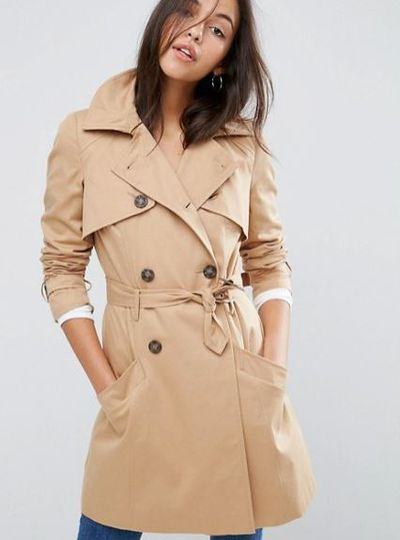 """<a href=""""http://www.asos.com/au/asos/asos-classic-trench-coat/prd/7111019?iid=7111019&amp;clr=Stone&amp;SearchQuery=trench&amp;pgesize=36&amp;pge=0&amp;totalstyles=208&amp;gridsize=3&amp;gridrow=4&amp;gridcolumn=1"""" target=""""_blank"""">Asos</a> trench, $109<br />"""