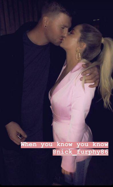 Nick Furphy and Jessika Power