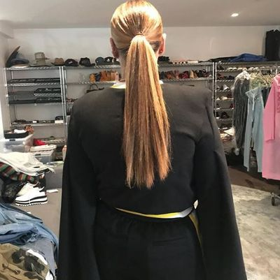 """<p>You can always count on your mama to call you out and Beyoncé is no different.</p> <p>The singer's mum, Tina Lawson, took to Instagram to put to rest a long-running debate over her daughter's hair.</p> <p>Beyoncé cops endless speculation over the length of her hair - is it a weave? Wig? Extensions? All hers?</p> <p>The Single Ladies singer wowed us all when she revealed her pixie-style bob to the world back in 2013. Many fans speculated this was in fact her 'real' hair, usually hidden under her weave. Fast forward four years, we've been seeing some crazy long locks on the star and people are asking, 'can it really grow that fast?'</p> <p>According to her mum, it sure can.</p> <p>Lawson ended the debate once and for all by posting a photo of her girl captioned, """"INCHES!!!! So happy my baby's hair grew back!! She is going to get me 😩.""""</p> <p>And now, if you could just be so kind to let us know the products your daughter is using that would be oh so kind Mrs Lawson.</p> <p>Celebrity hairstylistUrsula Stephen says there are some tell-tale signs someone is sporting a weave. The main ones to look out for are;</p> <p><strong>1.</strong> Too much shine - This usually happens when the hair is synthetic and has an unnatural-looking sheen.<br /> <strong>2.</strong> Tracks are on show – this happens when it's worn in a style it wasn't intended, for example, wearing aweave up in a ponytail when it was installed with the intention of wearing it down<br /> <strong>3. </strong>It smells – eeek. Mildew can grow if not wash and dried properly and this leaves a very unpleasant odour.</p> <p>This would never happen to Queen Bey.</p> <p>Let's take a look at some of our favourite Beyoncé hair looks of all time.</p>"""