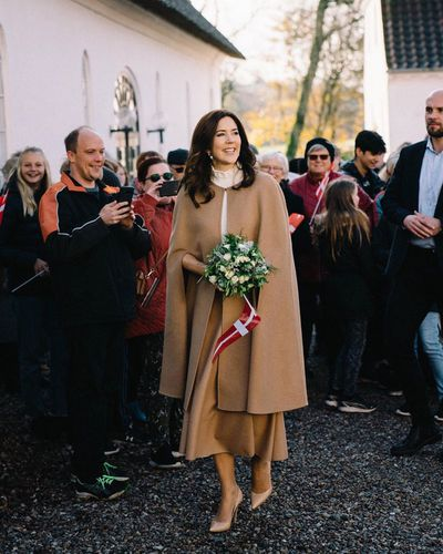 Princess Mary attends university's birthday celebrations, November 2019