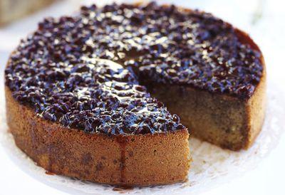 Cardamom and ginger cake