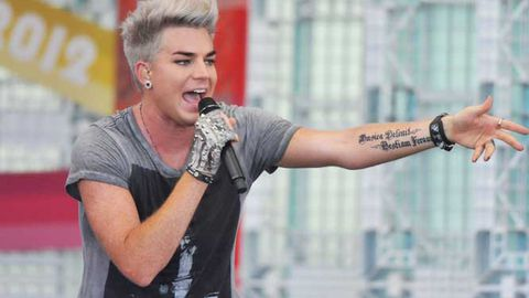 Adam Lambert insures his voice for $47 million … what the?