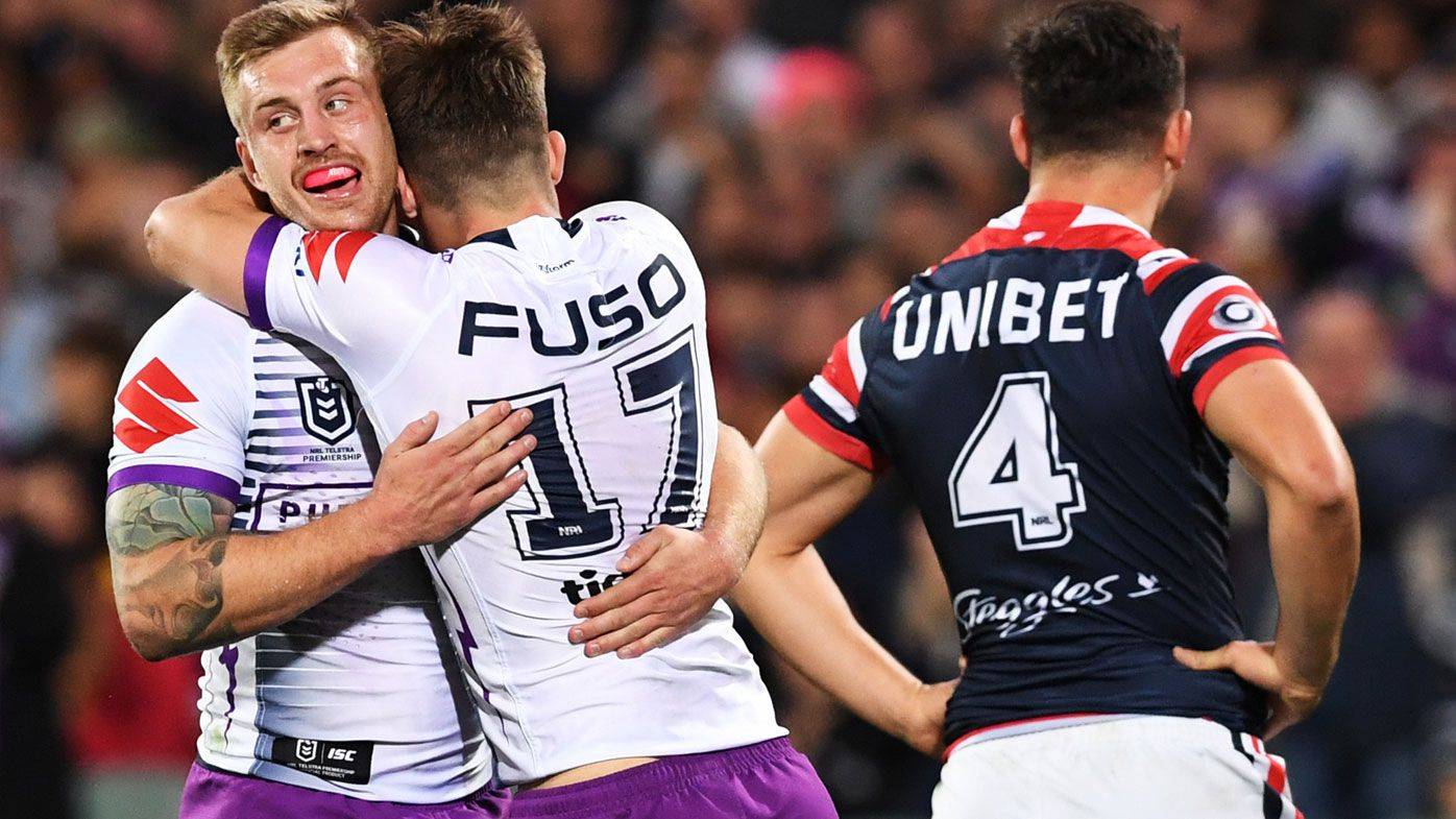 Melbourne Storm edge Sydney Roosters in gritty grand final rematch
