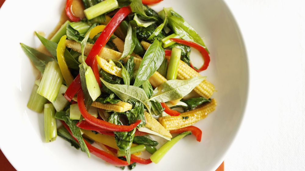 Sweet and sour vegetables