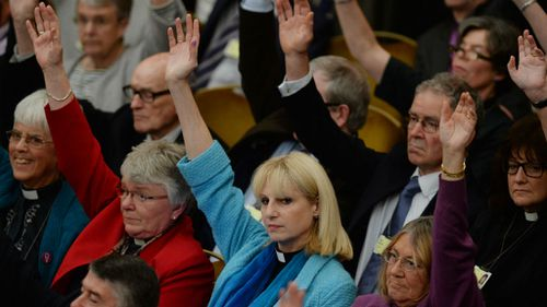 Church of England votes to allow women bishops