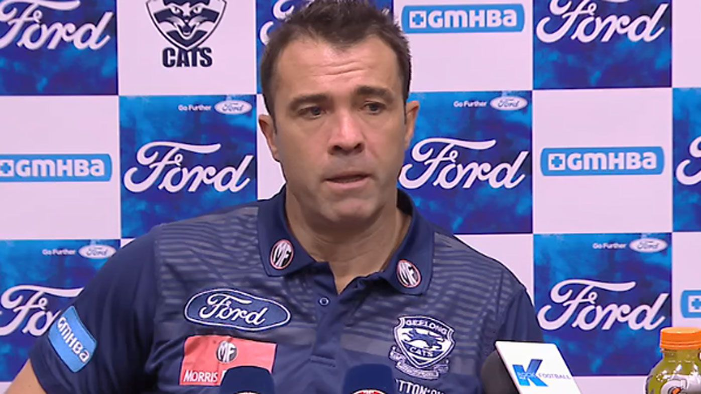 Geelong coach Chris Scott unimpressed with Cats' dour win over Blues