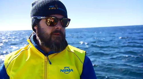 Whale Watching Sydney's Justin Hawco said while more whales are being seen in local waters, spectators should keep a safe distance to allow them to migrate in peace.