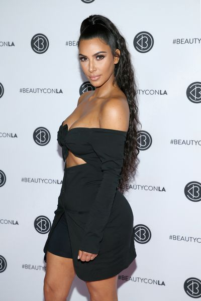 "<p>Kim Kardashian in Los Angeles, July 2018</p> <p><em><strong>Full length and fabulous</strong></em></p> <p>""If you have short or thin hair and want to add extra volume to this look for a special occasion, consider investing in clip in extensions. These are an easy way of giving the look added volume and length."" added Crawford.</p>"
