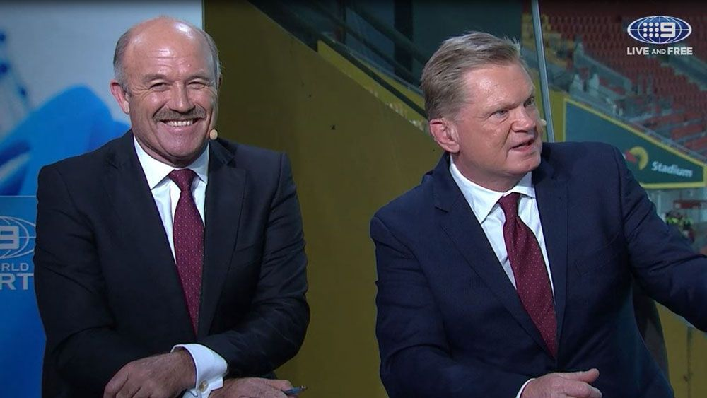 Queensland legends Paul Vautin and Wally Lewis scoff at NSW dynasty talk for State of Origin
