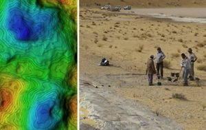 Footprints dating back 120,000 years found in Saudi Arabia might be human