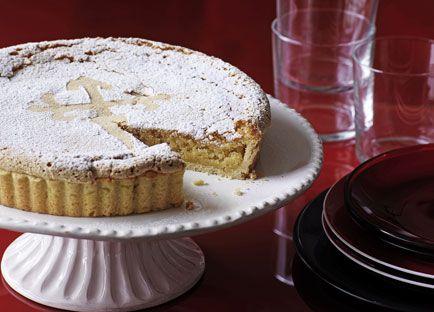 Galician almond tart