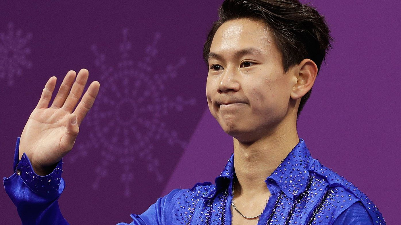 Suspect held in killing of Olympic skater