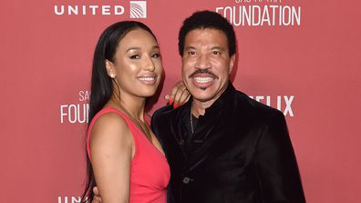 Lionel Richie and Lisa Parigi