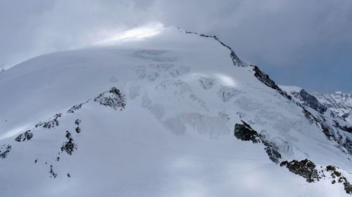 Four climbers die in Swiss Alps after severe snowstorm