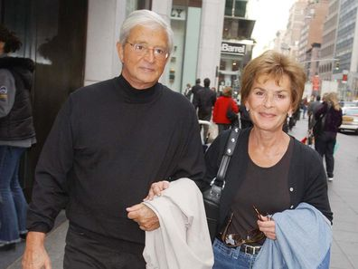 Judy and Jerry Sheindlin in New York