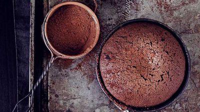 """Recipe:<a href=""""http://kitchen.nine.com.au/2016/05/17/17/21/rich-chocolate-cakes"""" target=""""_top"""">Rich chocolate cakes</a>"""
